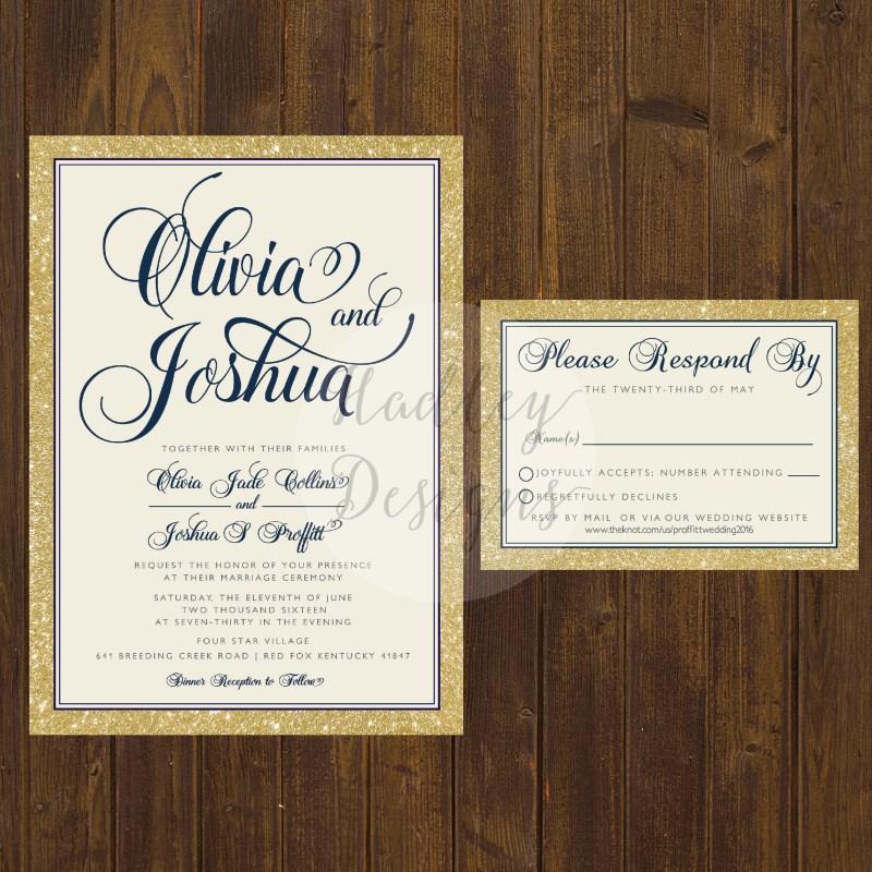 Large Of Elegant Wedding Invitations