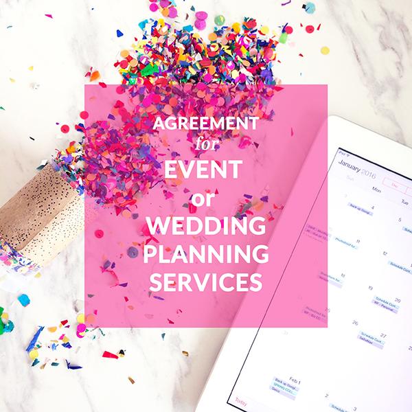CONTRACT TEMPLATES Lawyer for Creative  Wedding Entrepreneurs