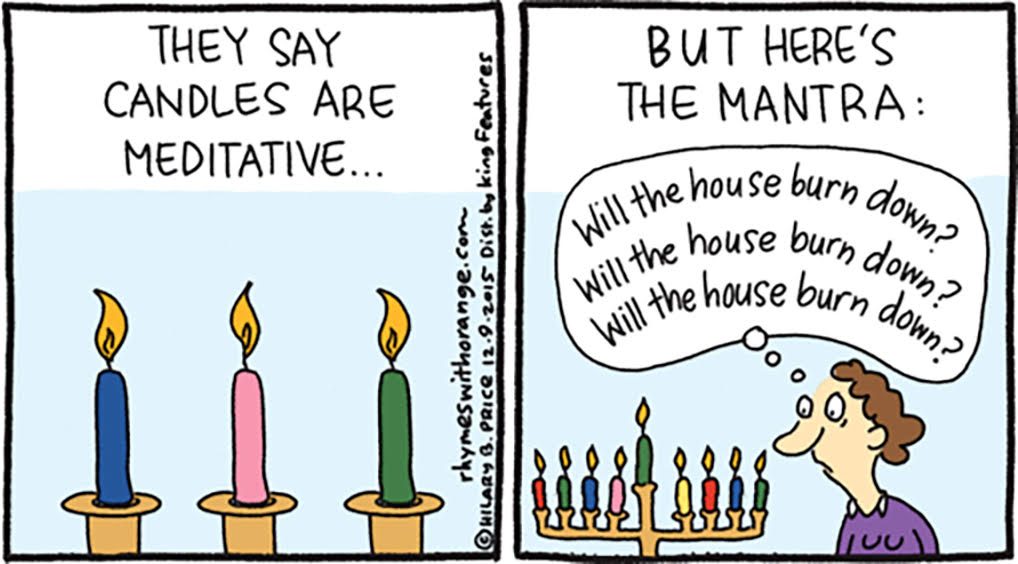 HANUKKOMICS Cartoons about Jewish Culture and Holidays with Hilary