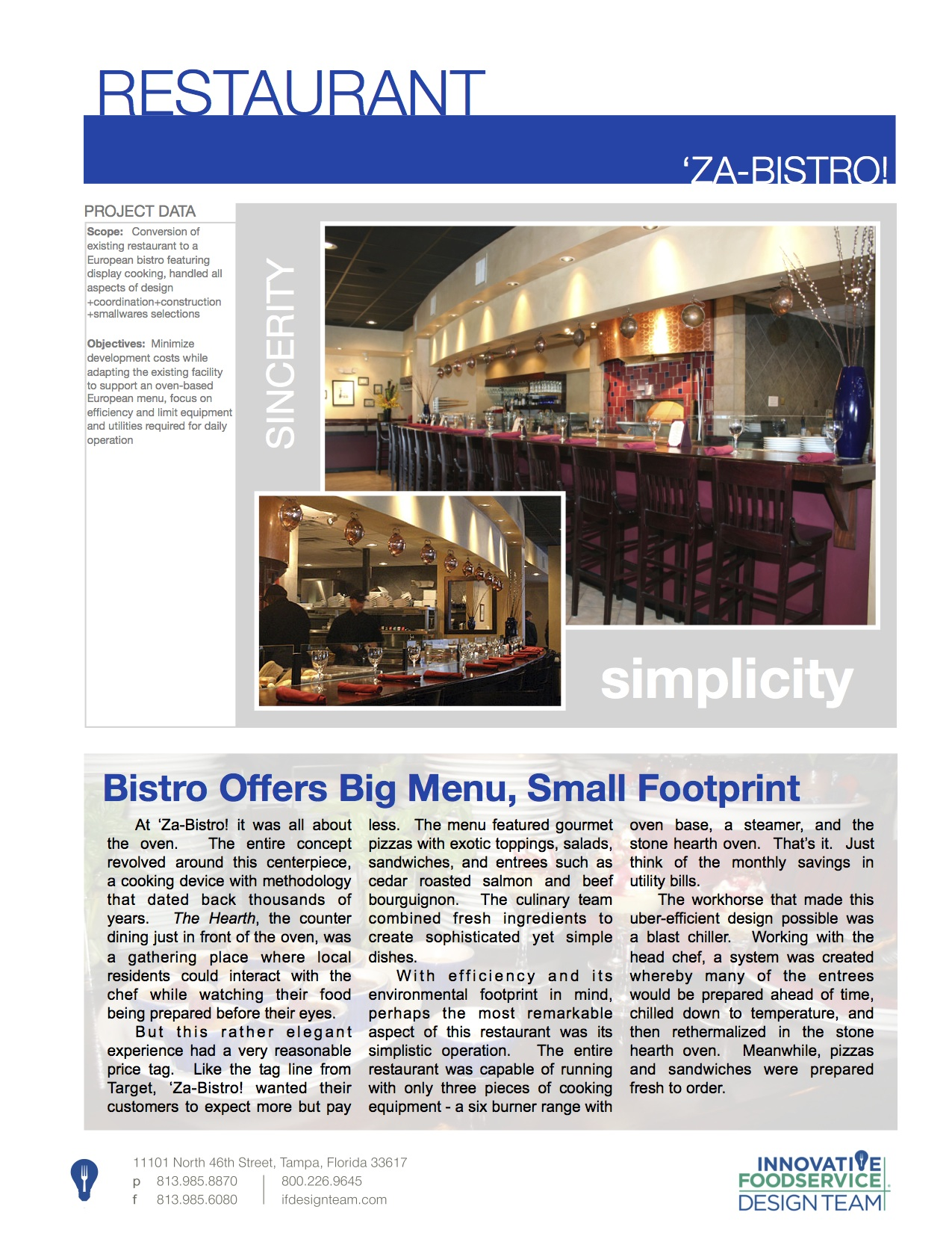 Pizza Cucina Marriott Grande Vista Menu Projects Innovative Foodservice Design Team