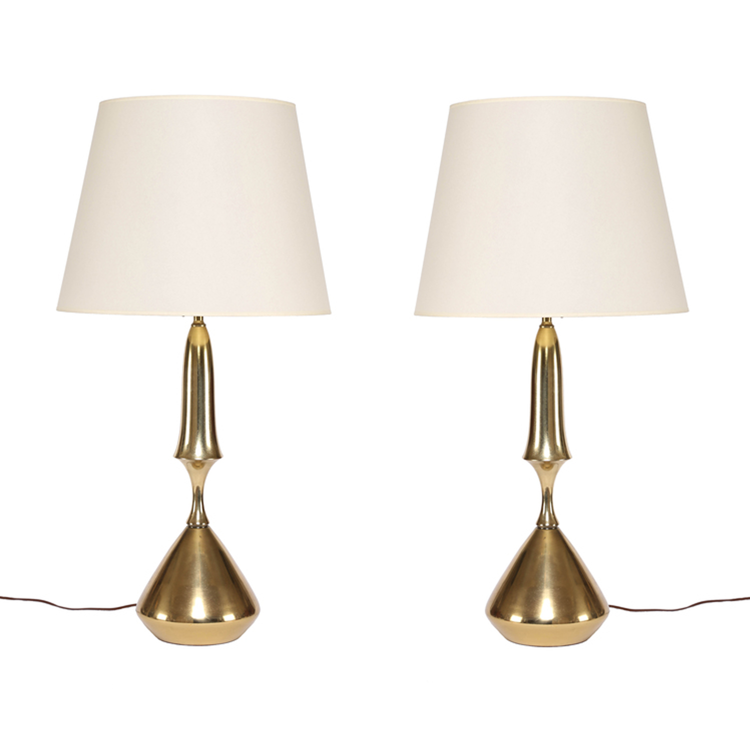 Vintage Table Lamps Vintage Brass Table Lamps
