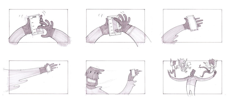 STORYBOARDS u2014 JEREMY RUMAS ART - commercial storyboards
