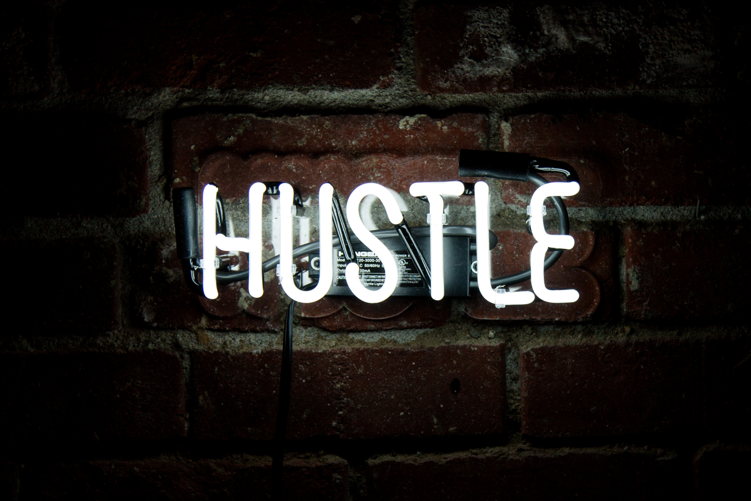 Positive Vibes Quotes Wallpaper Hustle Neon Mfg
