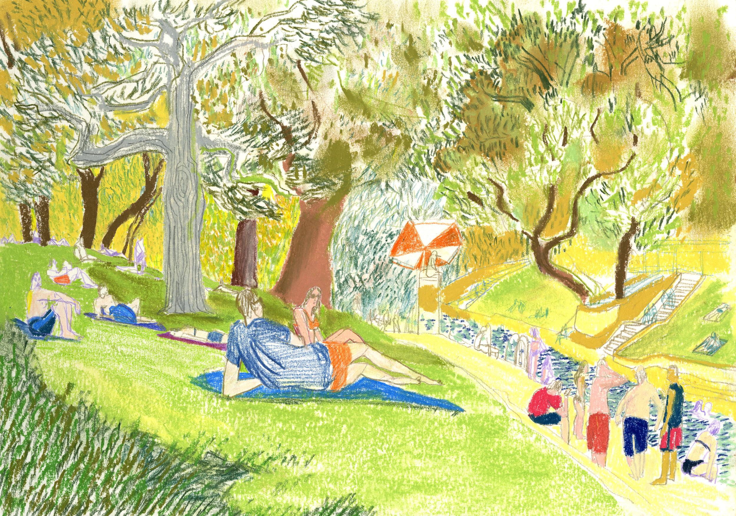 Is Gilman A Boy Or A Girl Yellow Wallpaper Audrey Hawkins Illustration
