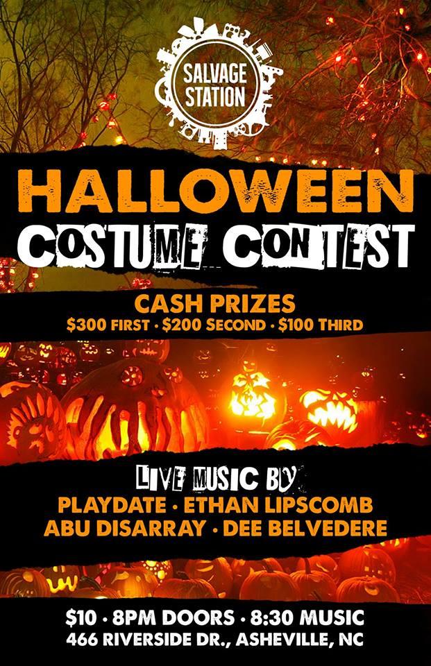 Halloween Costume Contest/Dance Party $10 \u2014 Salvage Station