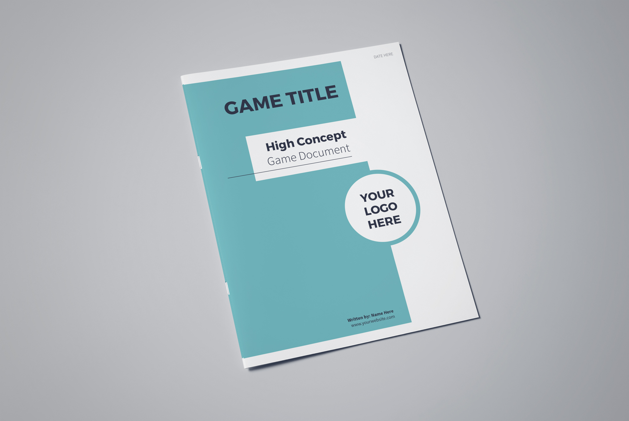 High Concept Game Document Template \u2014 Lauren Hodges Illustrator - video game template