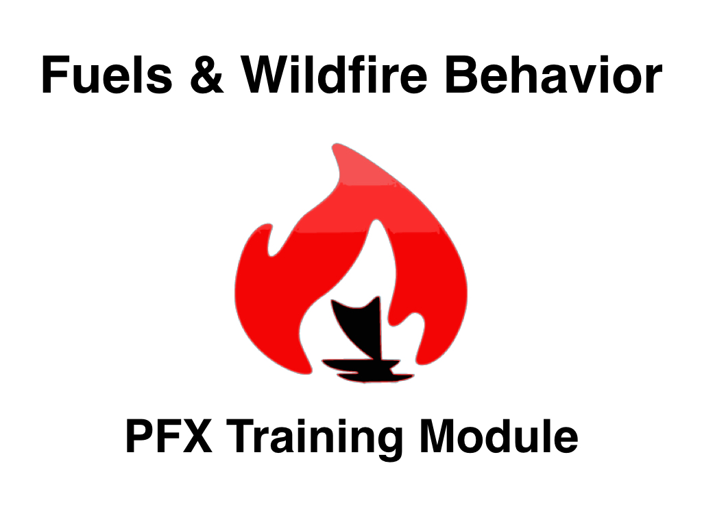 Fuels  Wildfire Behavior - A Training Module \u2014 Pacific Fire Exchange