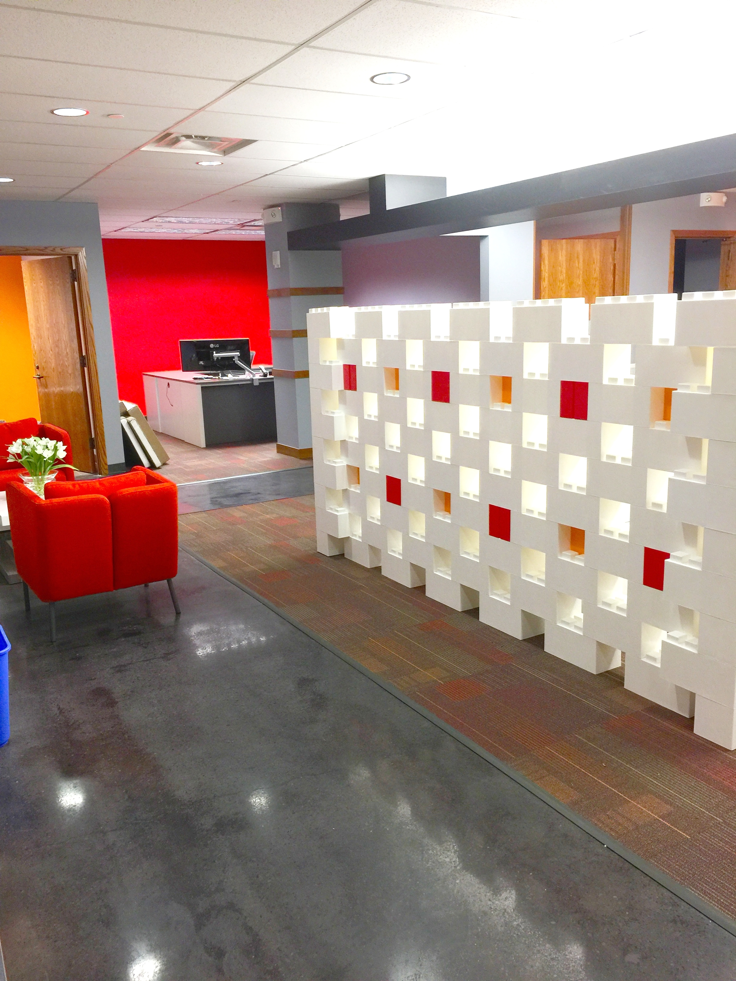 Matching Office Desk Accessories Office Walls Partitions Everblock Systems