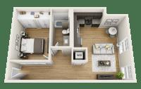1 Bedroom Apartments in Macon GA  The Lamar