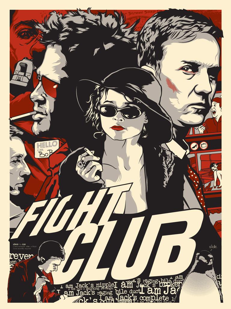 Fight Club Movie Quotes Wallpaper Fight Club Joshua Budich