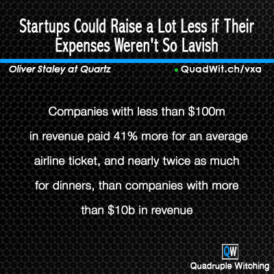 Startups Could Raise a Lot Less if Their Expenses Weren\u0027t So Lavish - startup expenses