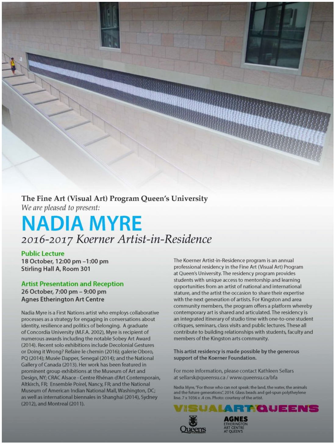 Catalogue Cuir Center Exhibitions Events Nadia Myre