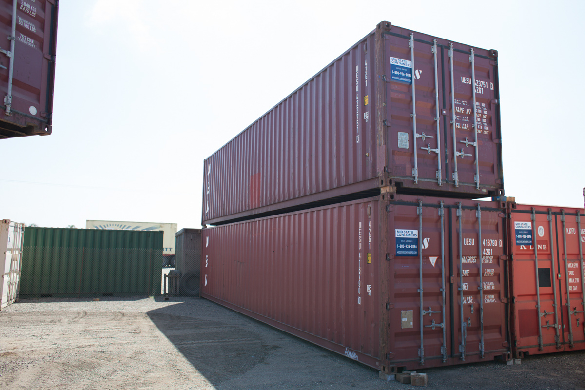Cargo storage containers for sale and rent in west sacramento california