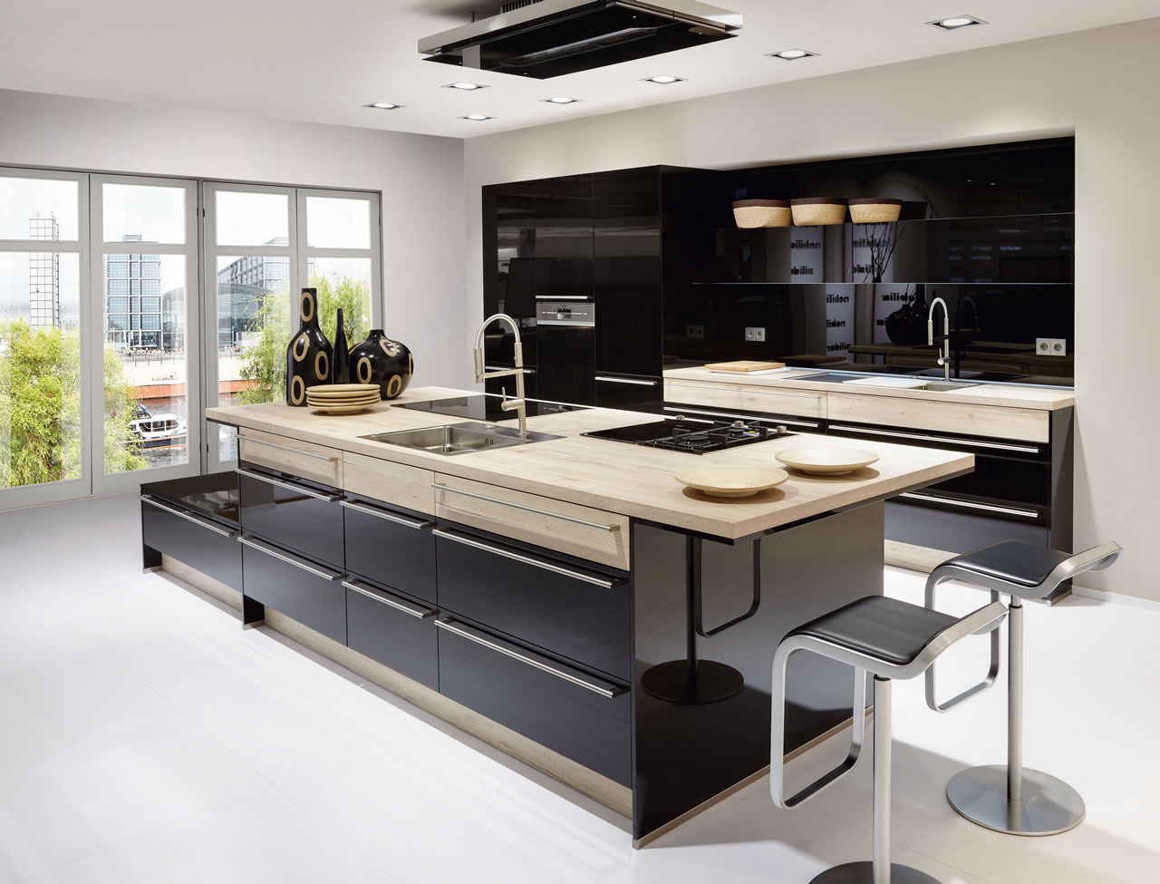 Nobilia Focus Magnolia Hochglanz Kitchen Collections Evoke German Kitchens