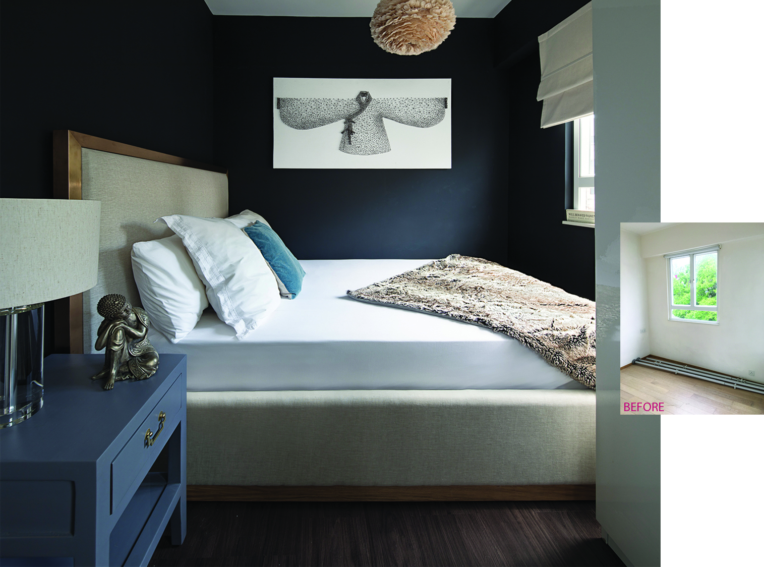 Stanley Bed Centre Stanley Flat Renovation B Squared Design Ltd