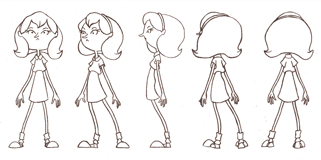 Creating A Character Turnaround Sheet Simple Art Tips