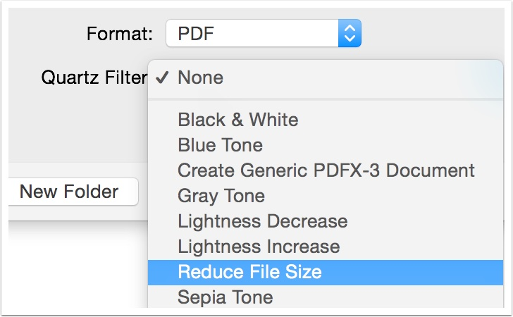 How to reduce the file size of a PDF in macOS High Sierra \u2014 Apple