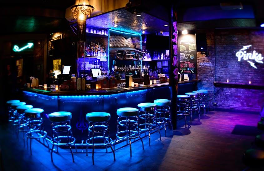 Pinks Bar  Grill