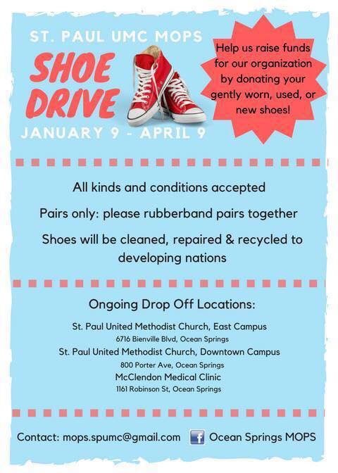Shoe Drive \u2014 St Paul UMC