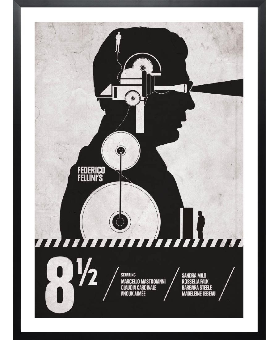 Poster Gerahmt Eight And A Half Great Posters For Fellini S 8 1 2 Curzon Blog