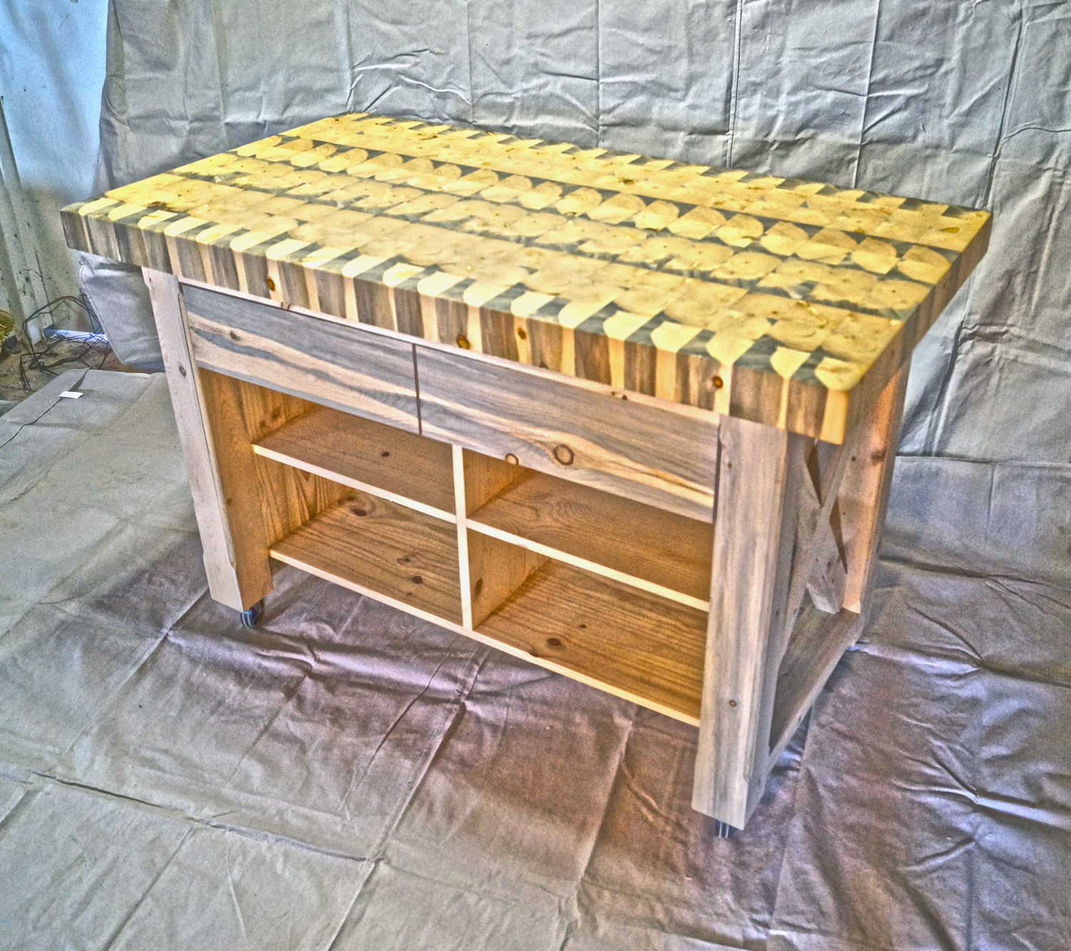 butcher block table top custom order custom kitchen islands Colorado Tables Custom Kitchen Islands
