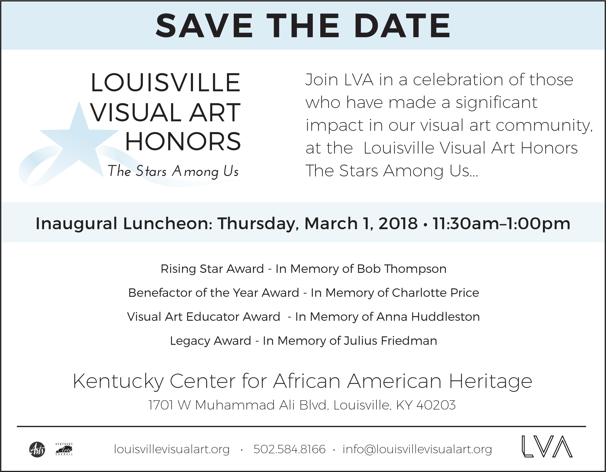 Upcoming Events \u2014 Louisville Visual Art