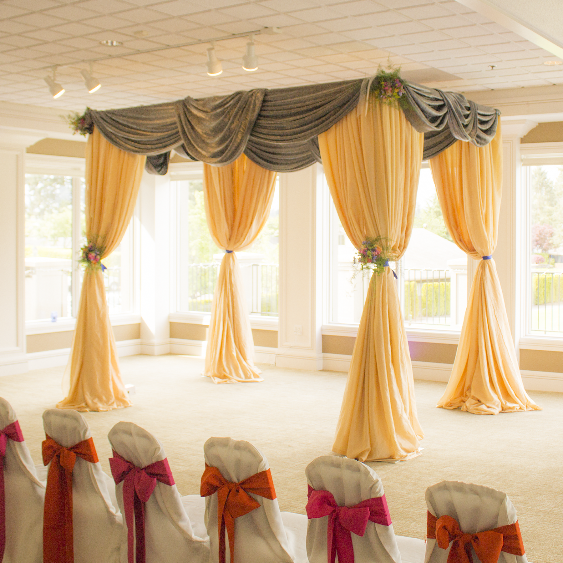 Draping Curtains Bowerbird Events Portland S Premier Pipe And Drape Rental Provider