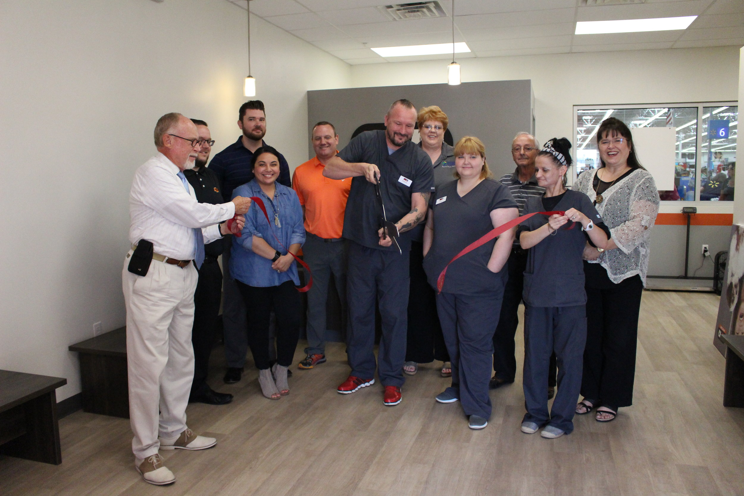 VetIQ Petcare holds ribbon-cutting ceremony at Sand Springs Walmart - walmart sand springs