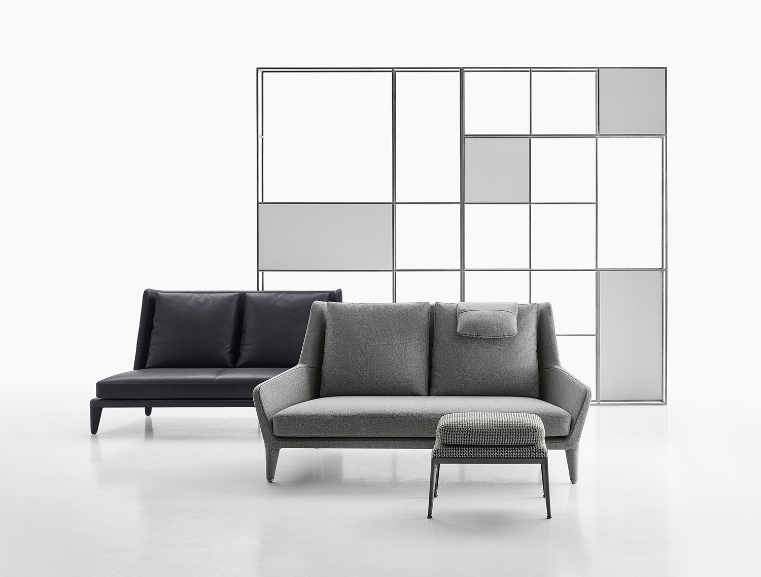 Antonio Citterio City Sofa B B Italia Édouard Sofa And Armchair Range Milan News 2017