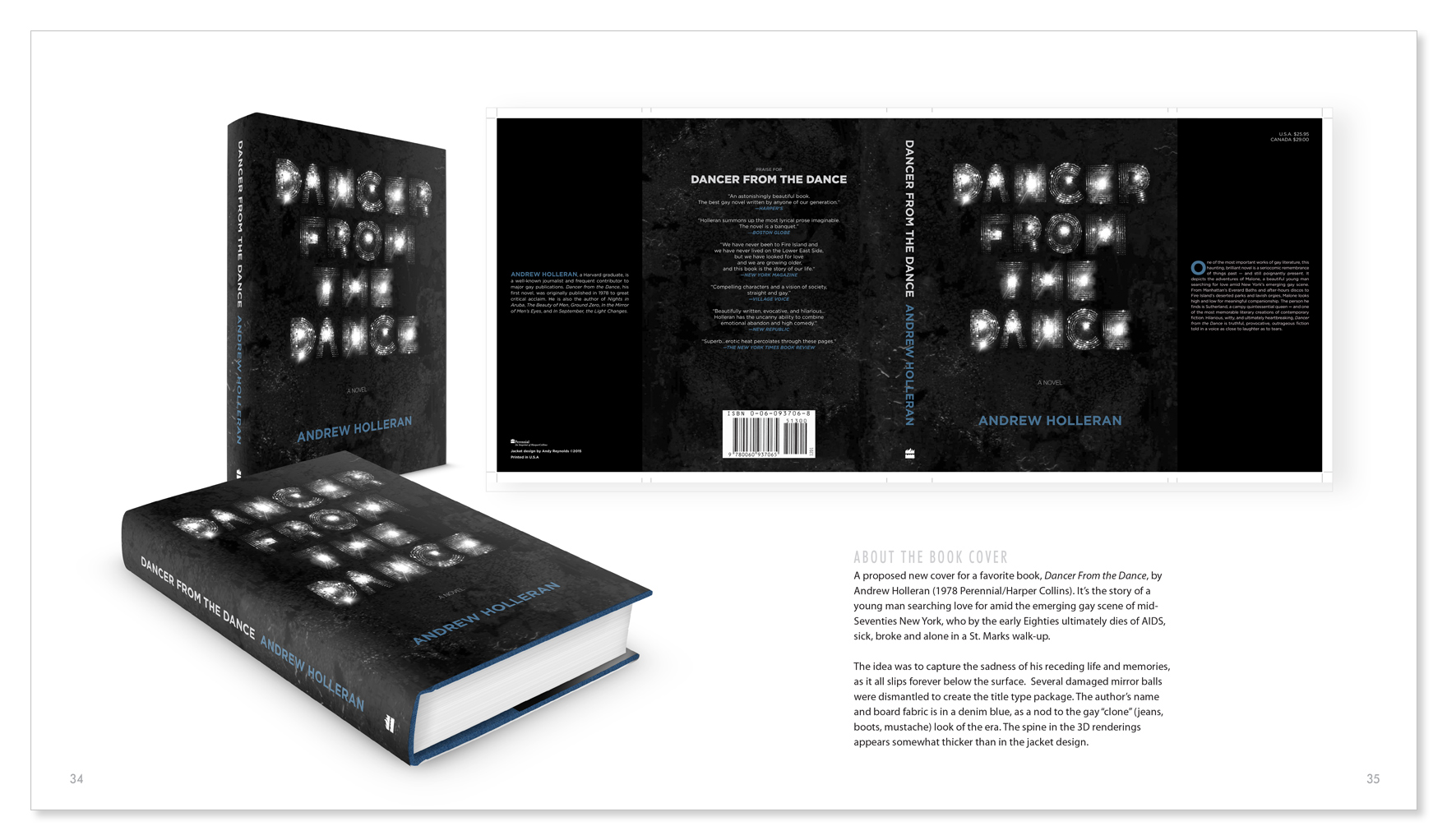 Book Cover RESUME as coffee table book \u2014 Andy Reynolds GRAPHIC - resume book