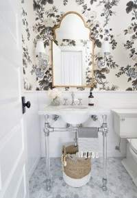 One Room Challenge Fall 2017: Powder Room Reveal!  Laura ...