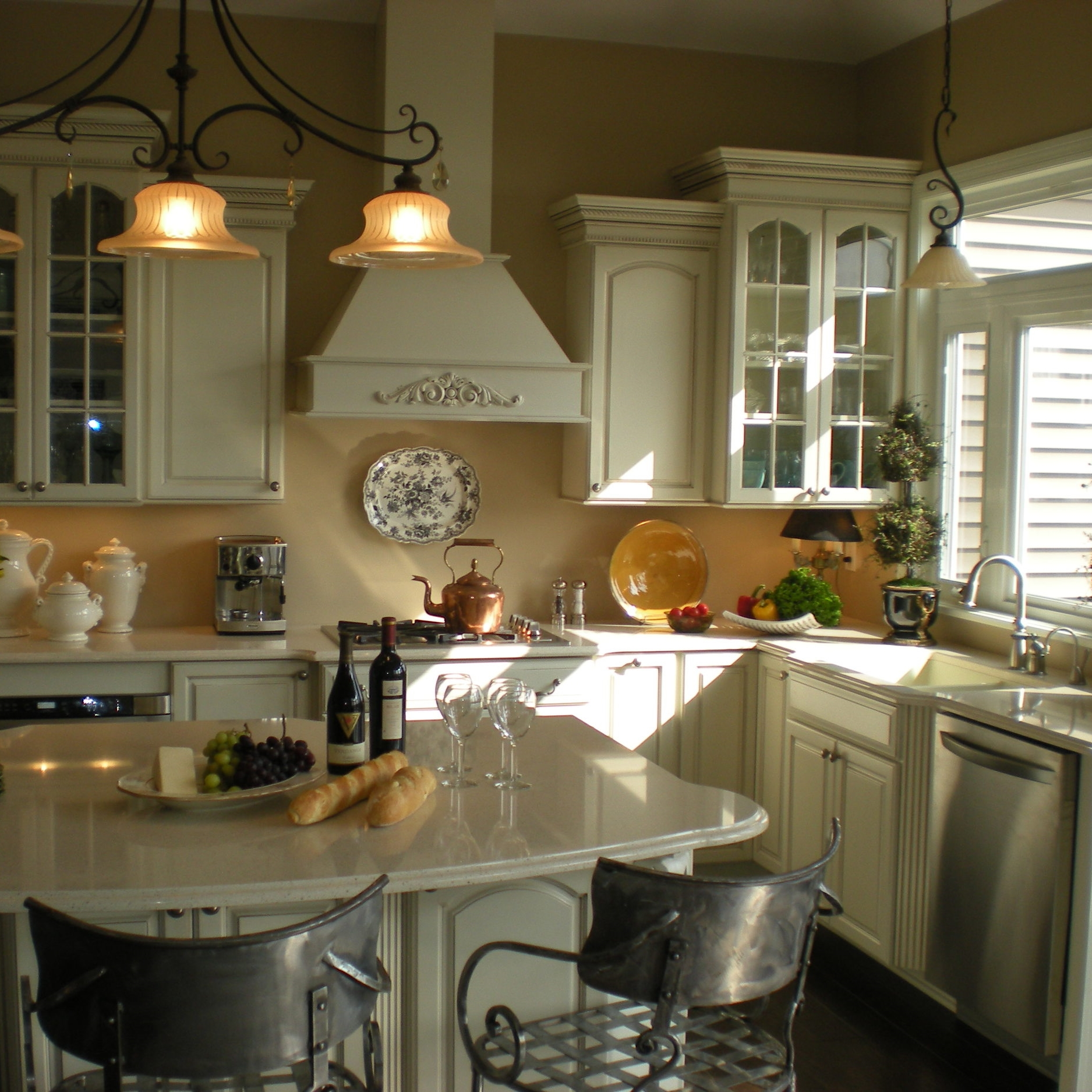 Completed kitchen remodel in rochester ny