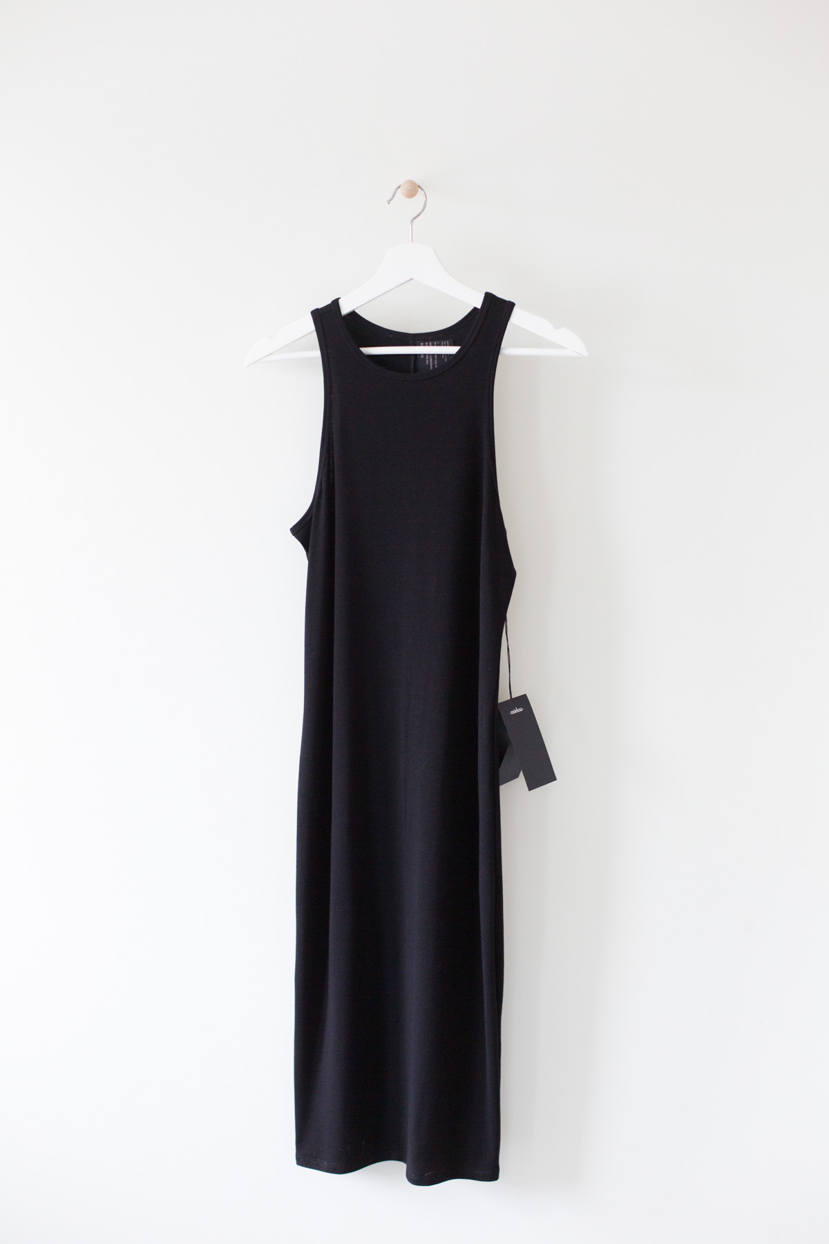 Arte Haus Collectif Black Knit Mid Dress
