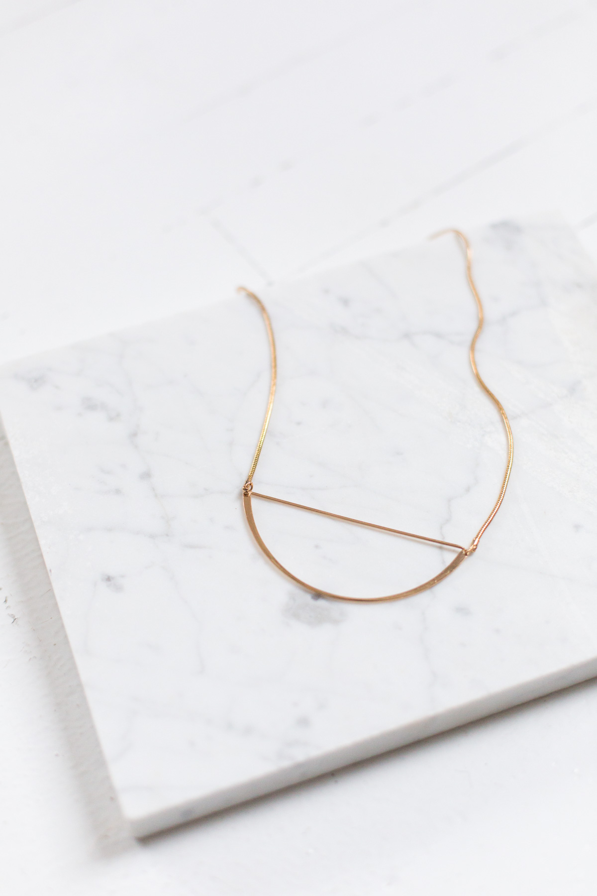 Arte Haus Collectif Curve Arc Necklace