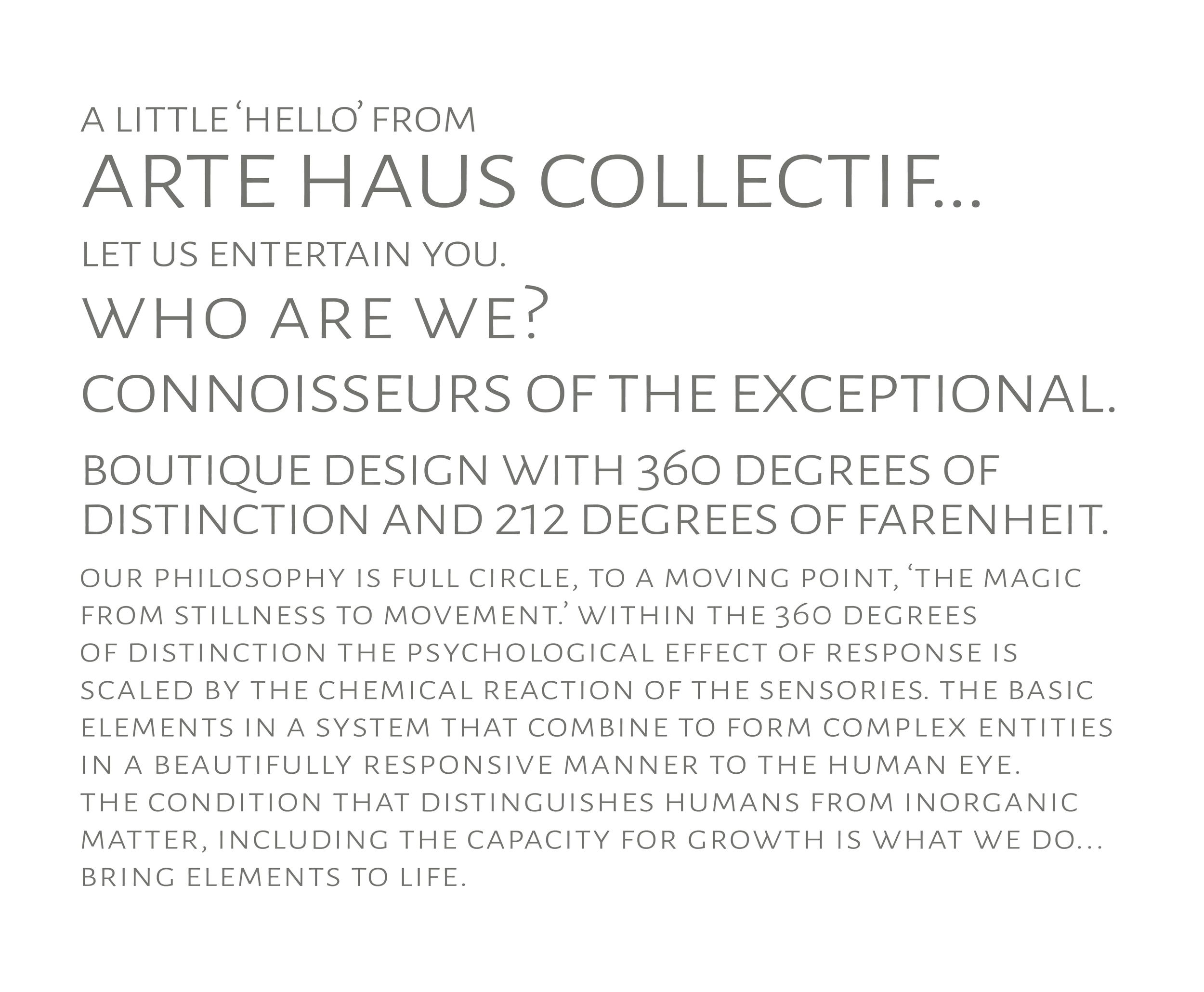 Arte Haus Collectif Who Are We Arte Haus Collectif