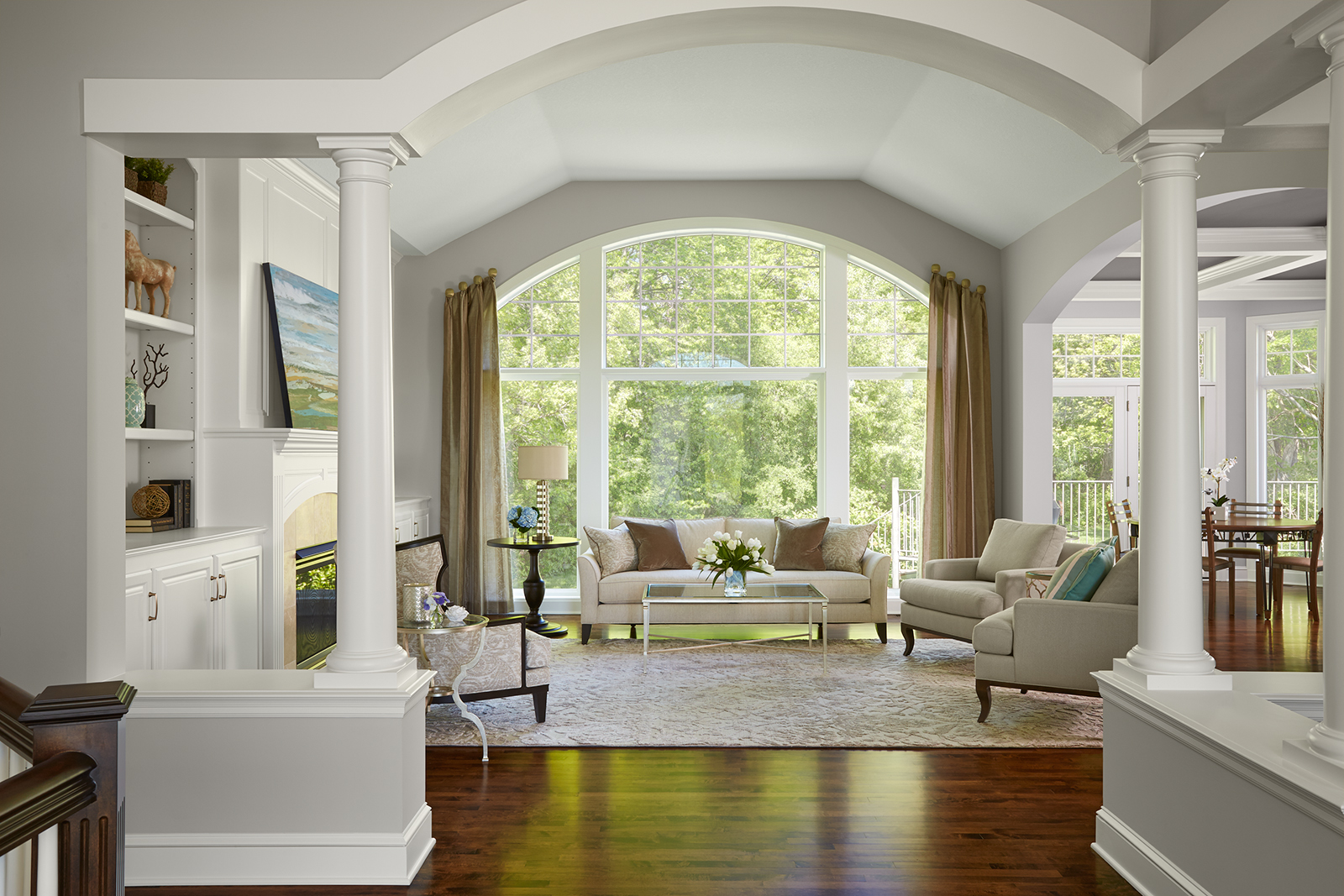 Living Room Vs Great Room Great Room Remodels In Mn Ma Peterson Designbuild