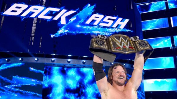 Image result for aj styles wwe champion