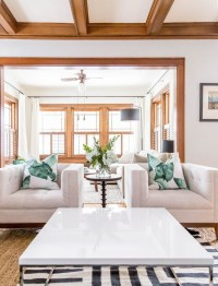 Living Happily with Wood Trim (& paint colours that play ...