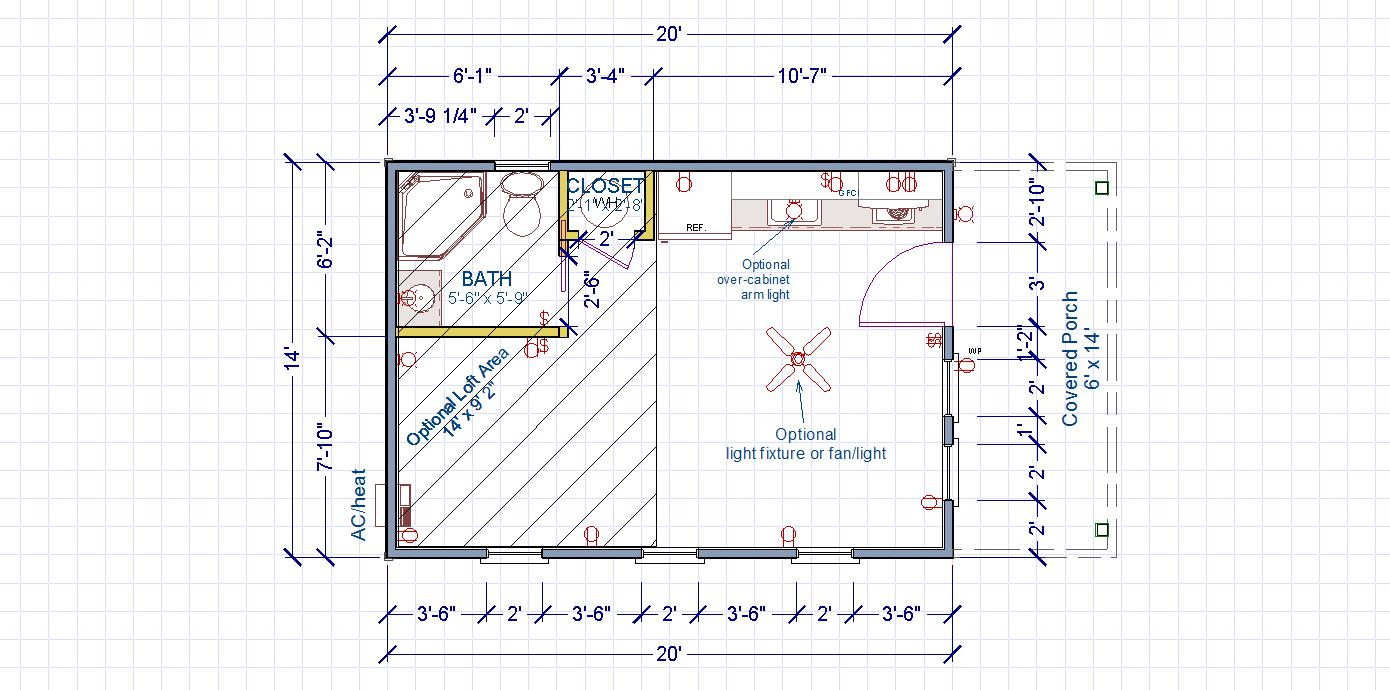 Cottage Cabin Dwelling Plans Pricing Kanga Room Systems