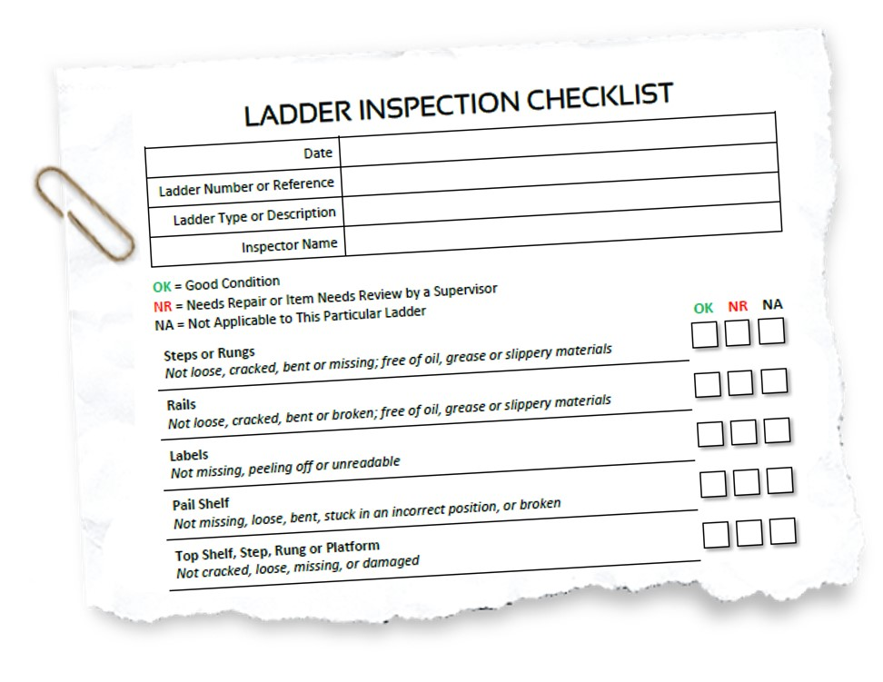 Ladder Inspection Template Erieairfair