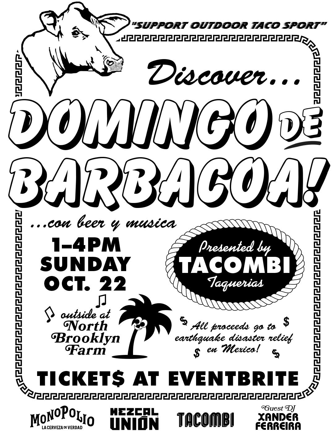 Barbacoas Sunday Domingo De Barbacoa With Tacombi Unión Mezcal North Brooklyn Farms