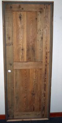 Barn Wood Interior Door Unfinished  Barn Wood Furniture ...