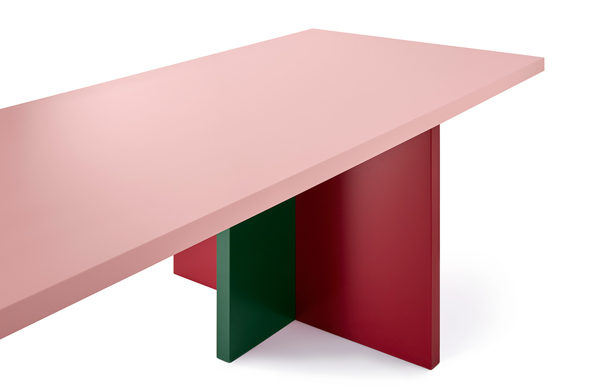 Tables En Palettes Bannach Architectural Tables Channeling Abstract Minimal Forms