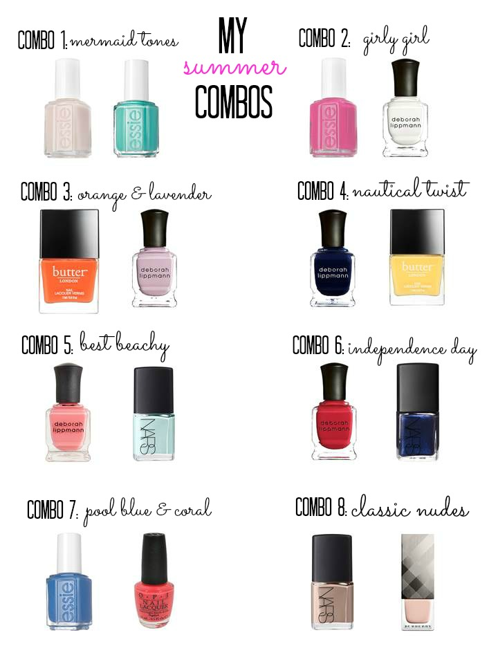 3 Nail Polish Colors That Go Together Hession Hairdressing