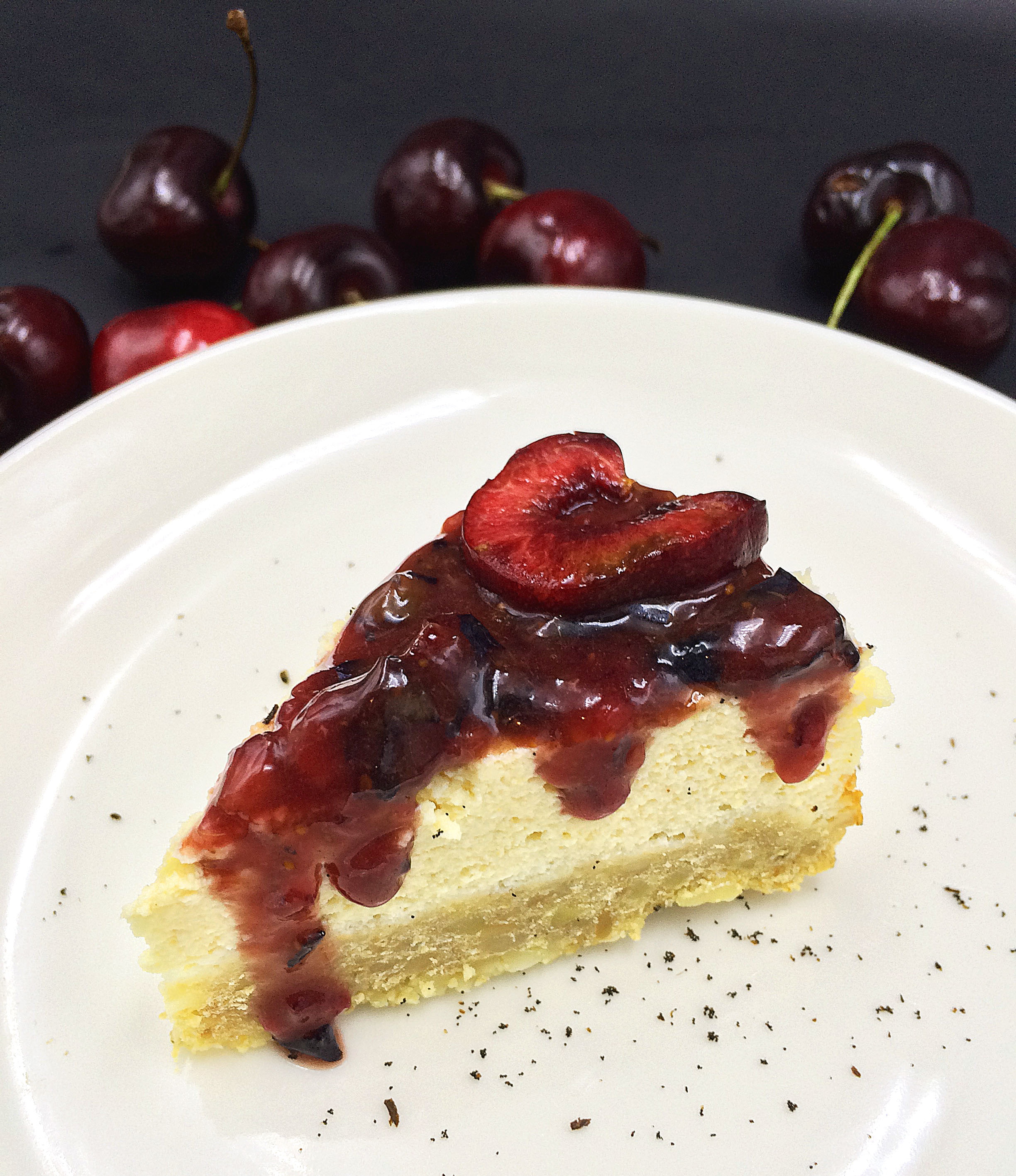 Protein Kuchen Low Carb Skinny Cherry Tofu Cheesecake Low Carb High Protein Kitchen