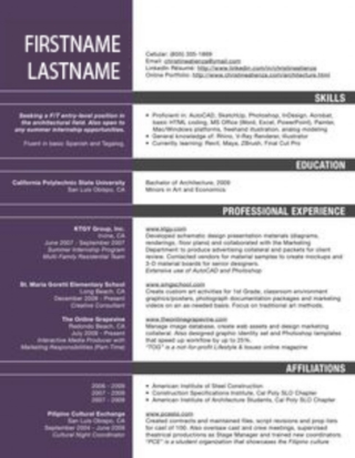 7 Mistakes That Will Destroy A Successful Architecture Resume (CV)