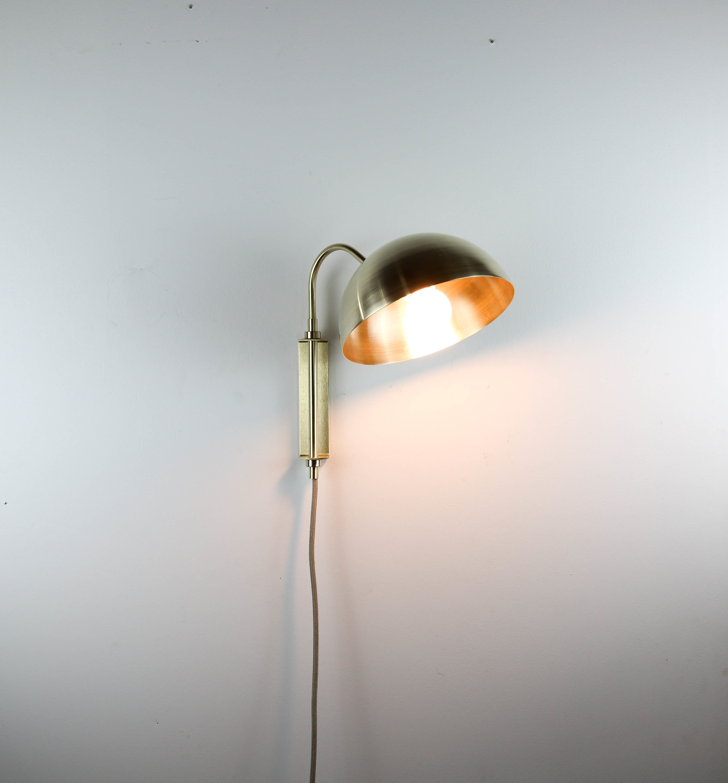 Arm Lamp Swing Arm Lamp Curved Collection Bow Short Arm