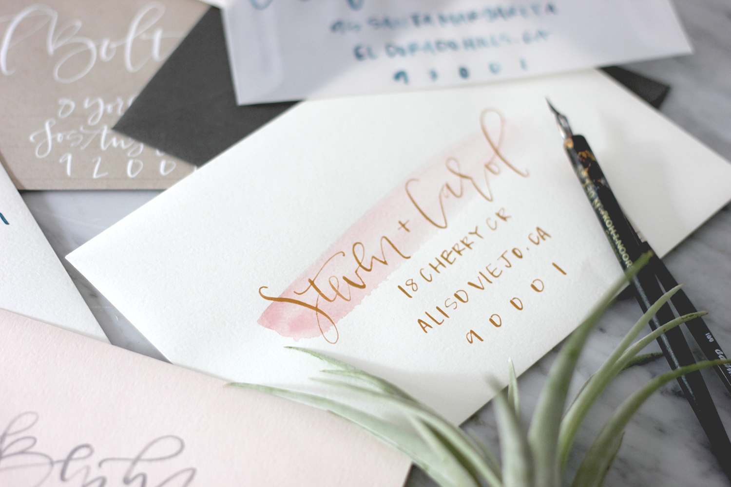 Wedding Calligraphy A Guide To Beautiful Hand Lettering My New Secret Weapon For Addressing Envelopes Calligraphy A