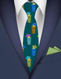 Conversationals  fun and colorful Hawaiian neckties ...
