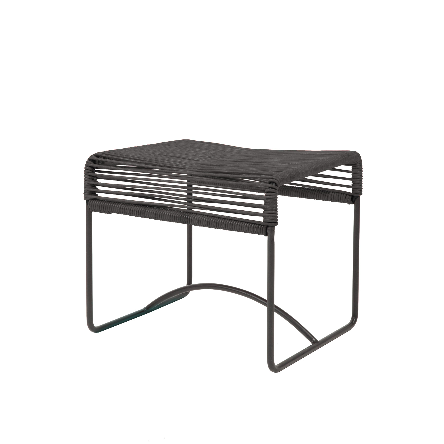 Hocker Leder Neu Original Acapulco Design Hocker Leder Negro